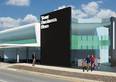 Duttons Service Centre - Render